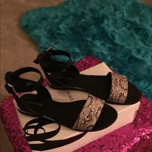Nine West Flat Sandals